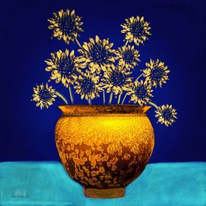 Bouquet for Jilly | Artwork for Lightbox | Various Sizes