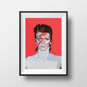 Bowie | Art Print | Framed and Unframed