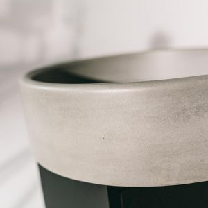 Bowl Sink by Nood Co | Mid Tone Grey
