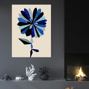 Boy Blue | Canvas Wall Art