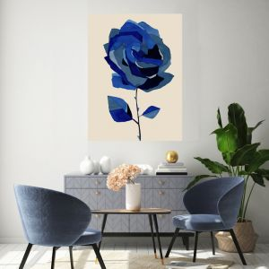 Boy Blue Two | Canvas Wall Art by Hoxton Art House