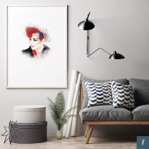 Boy George | Culture Club by ANDLIZZY | Unframed Print