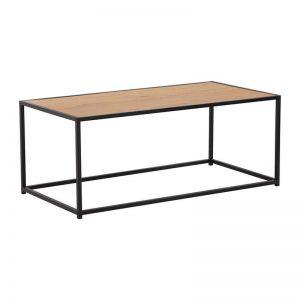 Bradford Coffee Table | 100cm | Natural & Black