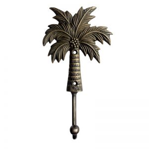 Brass Coconut Palm Hook | Large | Pineapple Traders