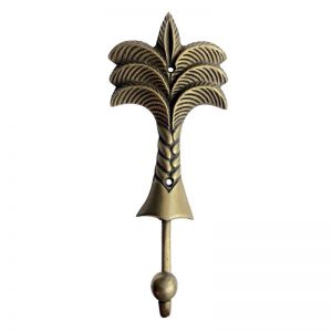 Brass Palm Tree Hook | Large | Pineapple Traders