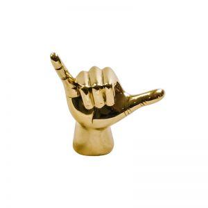 Brass Shaka Hand | OMG I WOULD LIKE