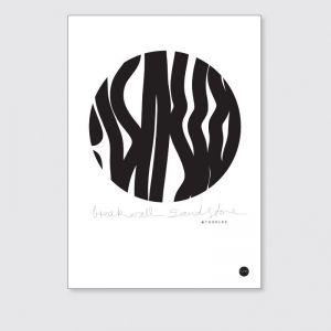 Breakwall Sandstone | Unframed Print