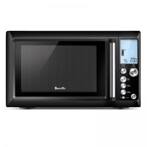 Breville The Quick Touch 34L Black Microwave Oven