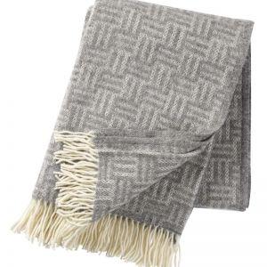 Brick Wool Blanket   Light Grey