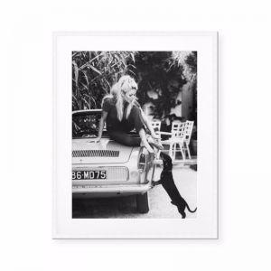 Brigitte Bardot at Home | Print or Canvas