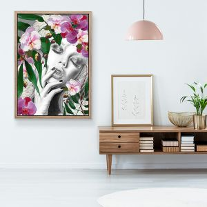 Brigitte Summer Nights | Limited Edition art by Patricia Mendes  | Wall Art Print
