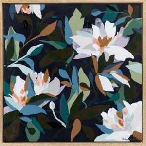 Brimming | Framed Canvas Print | Prudence De Marchi