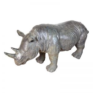 Bronze Rhinoceros | Extra Large