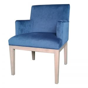 Brook Armed Dining Chair | Royal Blue | by Dasch Design
