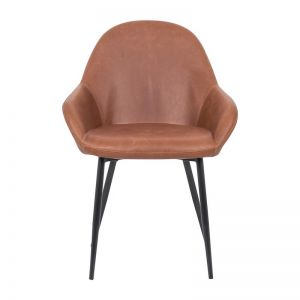 Brooke Leatherette Dining Chair