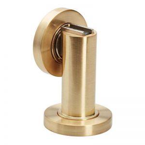 Brushed Brass Magnetic Door Stop I Mucheln
