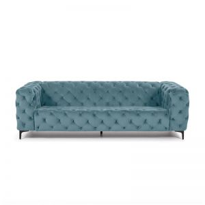 Buchanan 3 Seater Sofa | Steel Blue | CLU Living