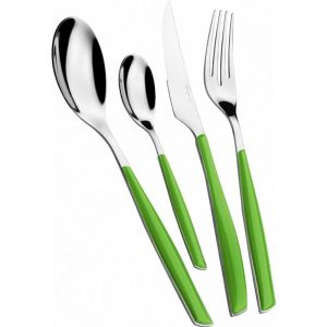 Bugatti Glamour | 24Pcs Cutlery Set | Apple Green