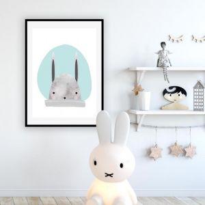 Bunny Blue | Art Print | Various Sizes