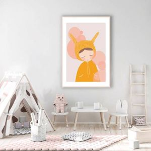 Bunny Girl | Art Print | Various Sizes