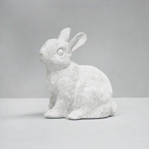 Bunny Money Box | White