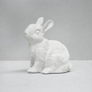 Bunny Money Box | White
