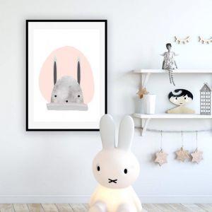 Bunny Peach | Art Print | Various Sizes