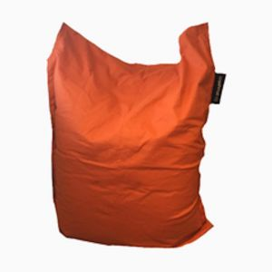 Burnt Orange Crashmat Beanbag