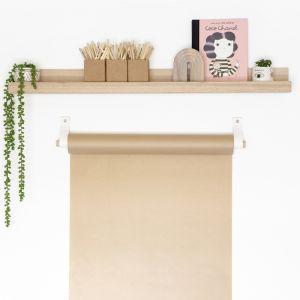 Butcher's Paper Hanger | White | Jemmervale Designs