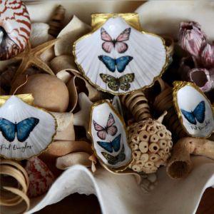 Butterflies | Oyster | by Seashells & Co.