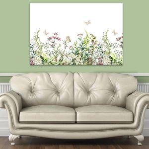 Butterfly Garden   Canvas Artwork