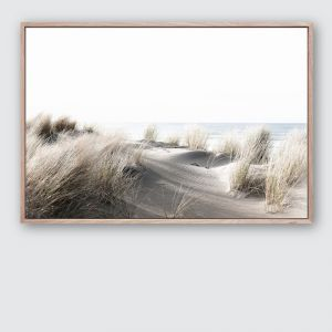 By The Dunes 3 | Framed Premium Canvas Print