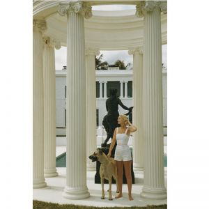 C.Z Guest by Slim Aarons | Framed Print