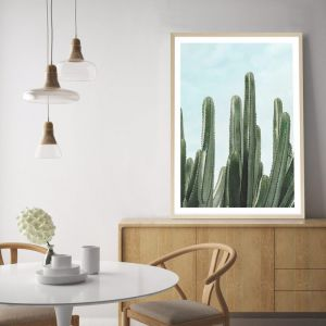Cactus View Premium Art Print (Various Sizes)