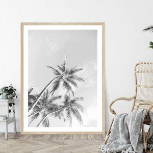 California Skies Black and White | Art Print