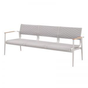 California Three Seat Sofa | White