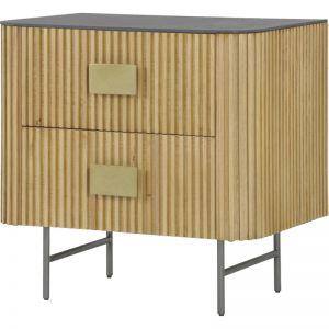 Calissa Bedside Table | Natural Oak | Schots
