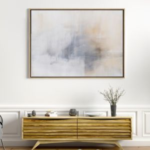 Calm Mornings | Drop Shadow Framed Art