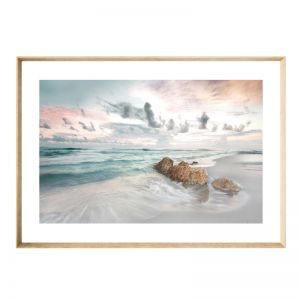 Calm Shores | Framed Print