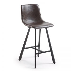Cambrie Barstool | Dark Brown