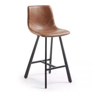 Cambrie Barstool | Oxide Brown