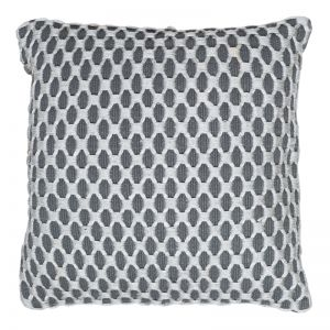 Camden Embellished Cushion | 50x50cm | Charcoal
