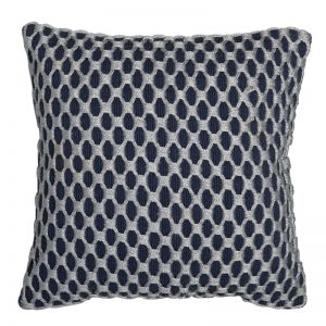 Camden Embellished Cushion | 50x50cm | Indigo