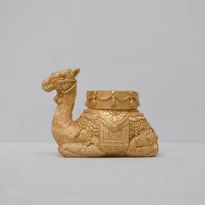 Camel Candle Holder | Gold