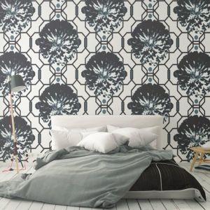 Camilla - Nature's Glamour | Eco Wallpaper | Camilla Charcoal | Amba Florette