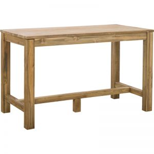 Camira 150cm Reclaimed Teak Bar Table | Raw | Schots | PRE-ORDER