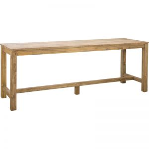 Camira 250cm Reclaimed Teak Bar Table | Raw | Schots
