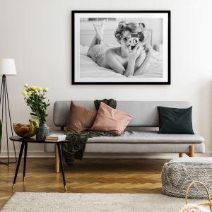 Candid Camera | Framed Art Print