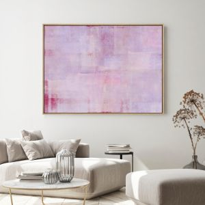 Candy Floss | Drop Shadow | Framed Artwork