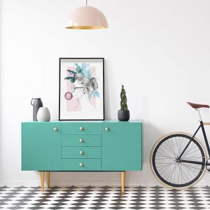 Candy Teal | Art Poster | Art by 4 The Love of Paris